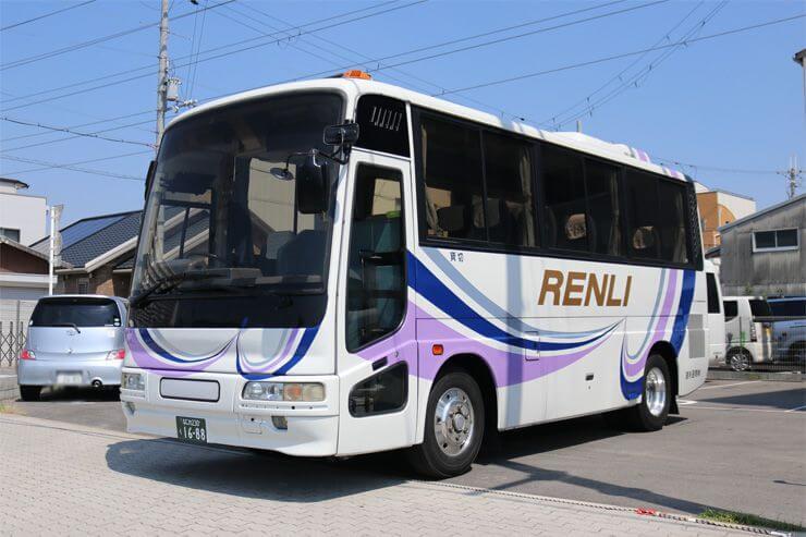 貸切バスで観光旅行