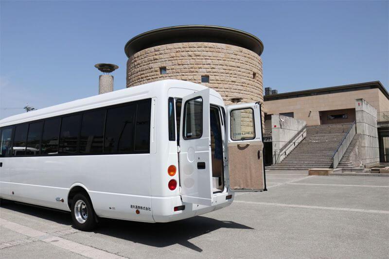 貸切バス マイクロバス 三菱ローザ(スーパーロング)